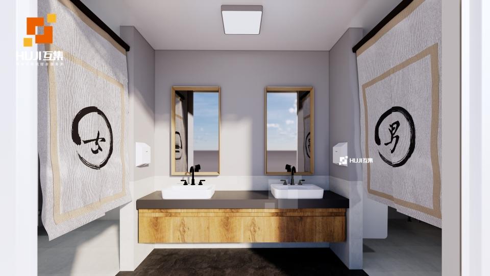 集装箱厕所A款工业风-HUJI互集