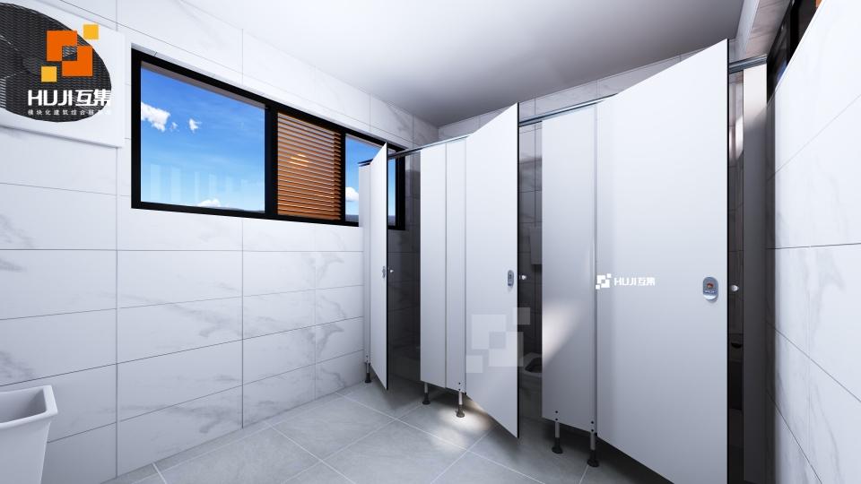 集装箱厕所C款森林风-HUJI互集