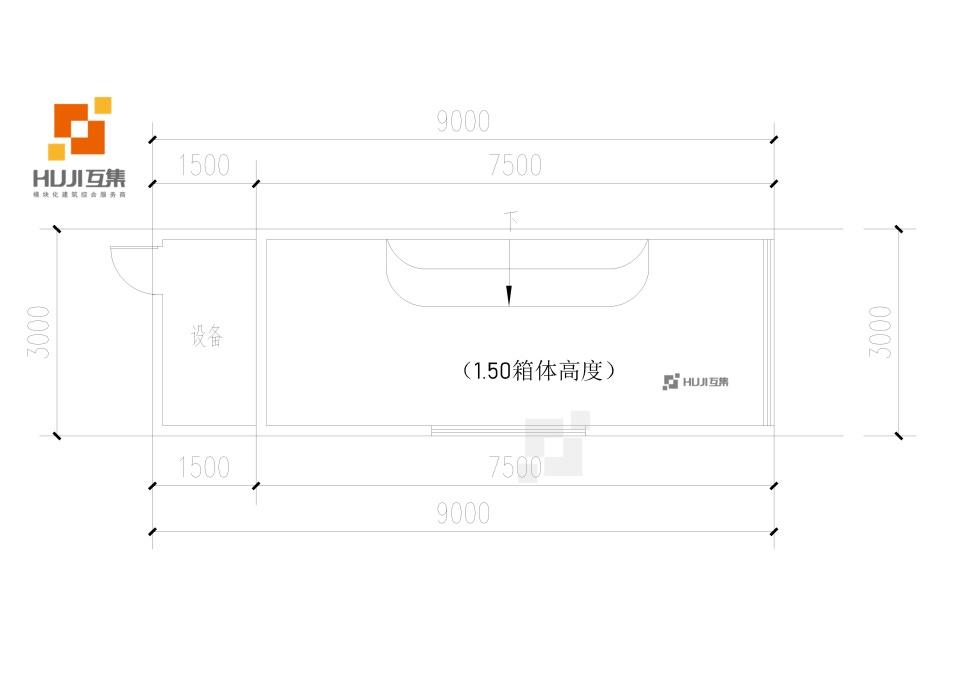 集装箱泳池HUJIPOOL(A款)-HUJI互集