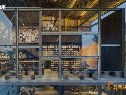 高颜值集装箱图书馆,即便会员也要限次数