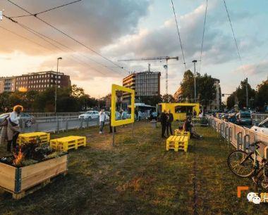 将废弃的缆车改造成充满活力的城市公园
