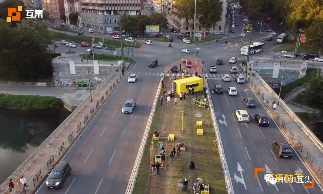 将废弃的缆车改造成充满活力的城市公园-HUJI互集